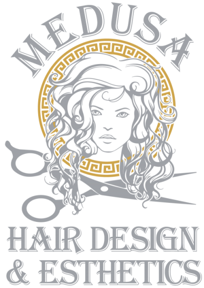 Medusa Hair Design Logo